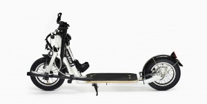 folded miniZüm electric kick scooter