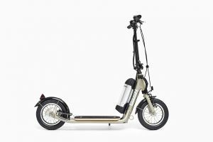 silver miniZüm electric kick scooter canada